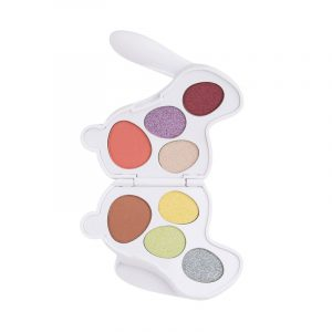 I Heart Revolution White Bunny Fluffy Make Up Pallet