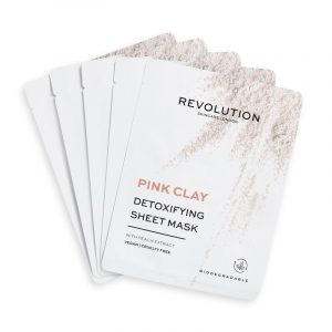 Revolution Skincare Biodegradable Detoxifying Pink Clay Sheet Mask