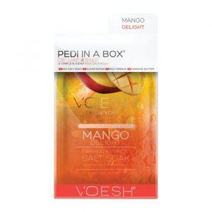 Voesh Pedi in a box Deluxe 4 Step Mango Delight