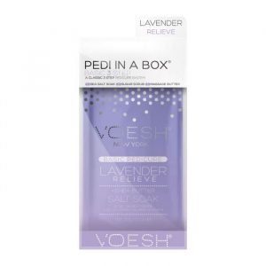Voesh Pedi in a box Deluxe 4 Step Lavender Relieve