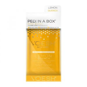 Voesh Pedi in a box Basic 3 Step Lemon