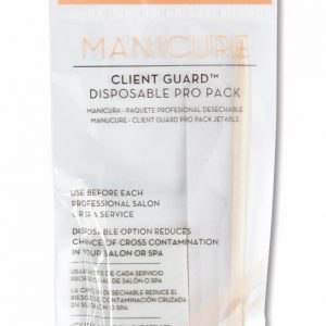 Manicure Client Guard Disposable Pro Pack (birchwood stick, nail file & buffer)